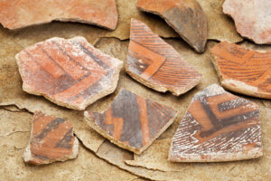 pottery shards - Anasazi